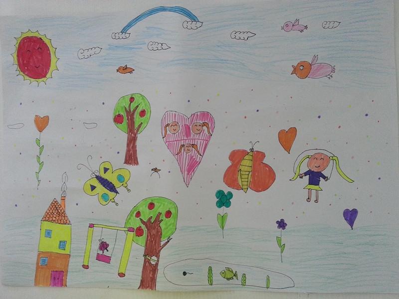 【我爱我家】少儿绘画大赛--龙会易购-网上购物
