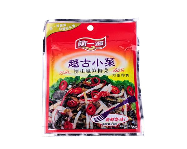 【阿一波】电视梅菜80g-宏信龙v电视馆-上海商江都炸辣味里脊图片