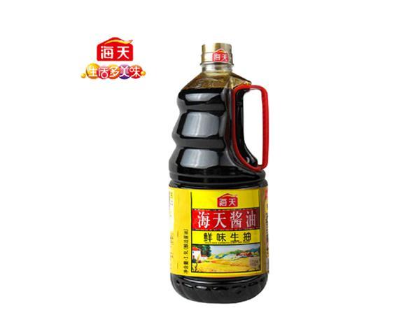 【海天】海天酱油鲜味生抽1.9l